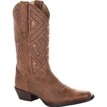 Crush by Durango Women's Aztec Stitch Western Boot, , large