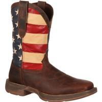 Rebel by Durango Patriotic Pull-On Western Flag Boot, , medium
