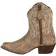 Crush™ by Durango® Women's Distressed Shortie Western Boot, , small