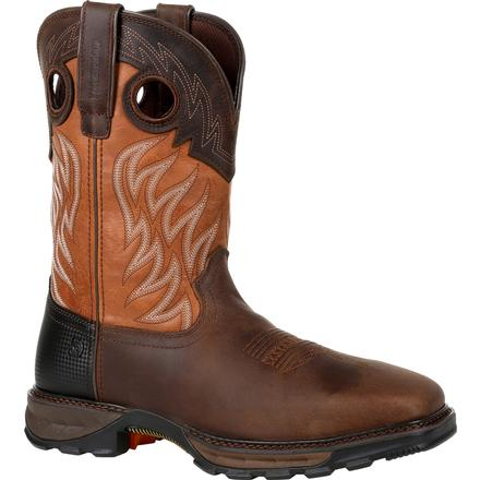 Durango Maverick XP Steel Toe Waterproof Western Work Boot, , large