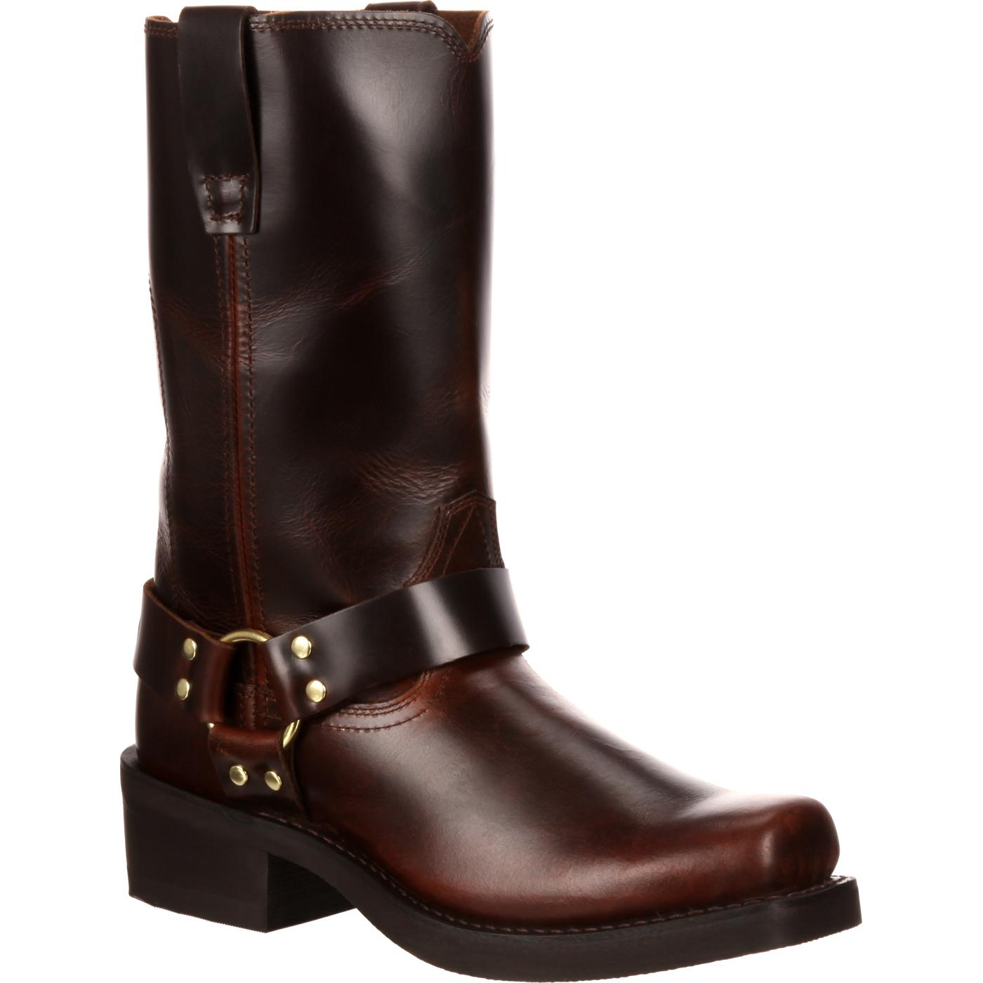 Durango: Men's Brown Leather Harness Boot, style #DB514