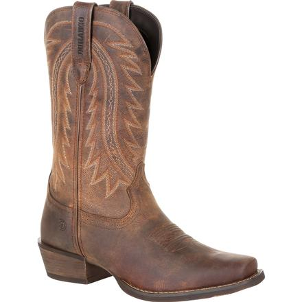 Durango Rebel Frontier Distressed Brown Western Boot, , large