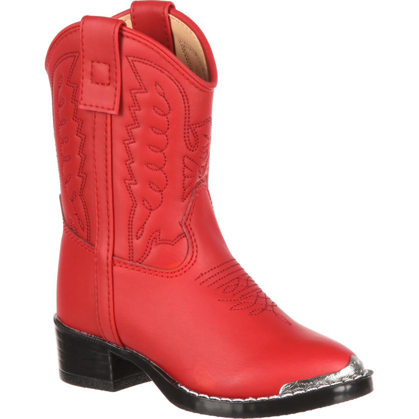 Durango Toddler Red Western Boot - Style #BT755