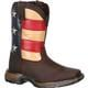 Lil' Rebel by Durango Big Kids' Flag Western Boot, , small
