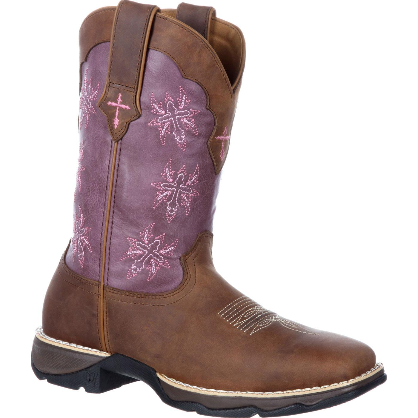 Durango Pink Ribbon Lady Rebel ... Women's Cowboy Boots SUIab