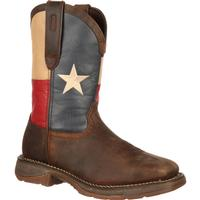 Rebel™ by Durango® Steel Toe Texas Flag Western Boot, , medium