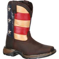 Lil' Rebel by Durango Little Kids' Flag Western Boot, , medium