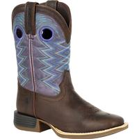 Durango Lil' Rebel Pro Little Kid's Amethyst Western Boot, , medium