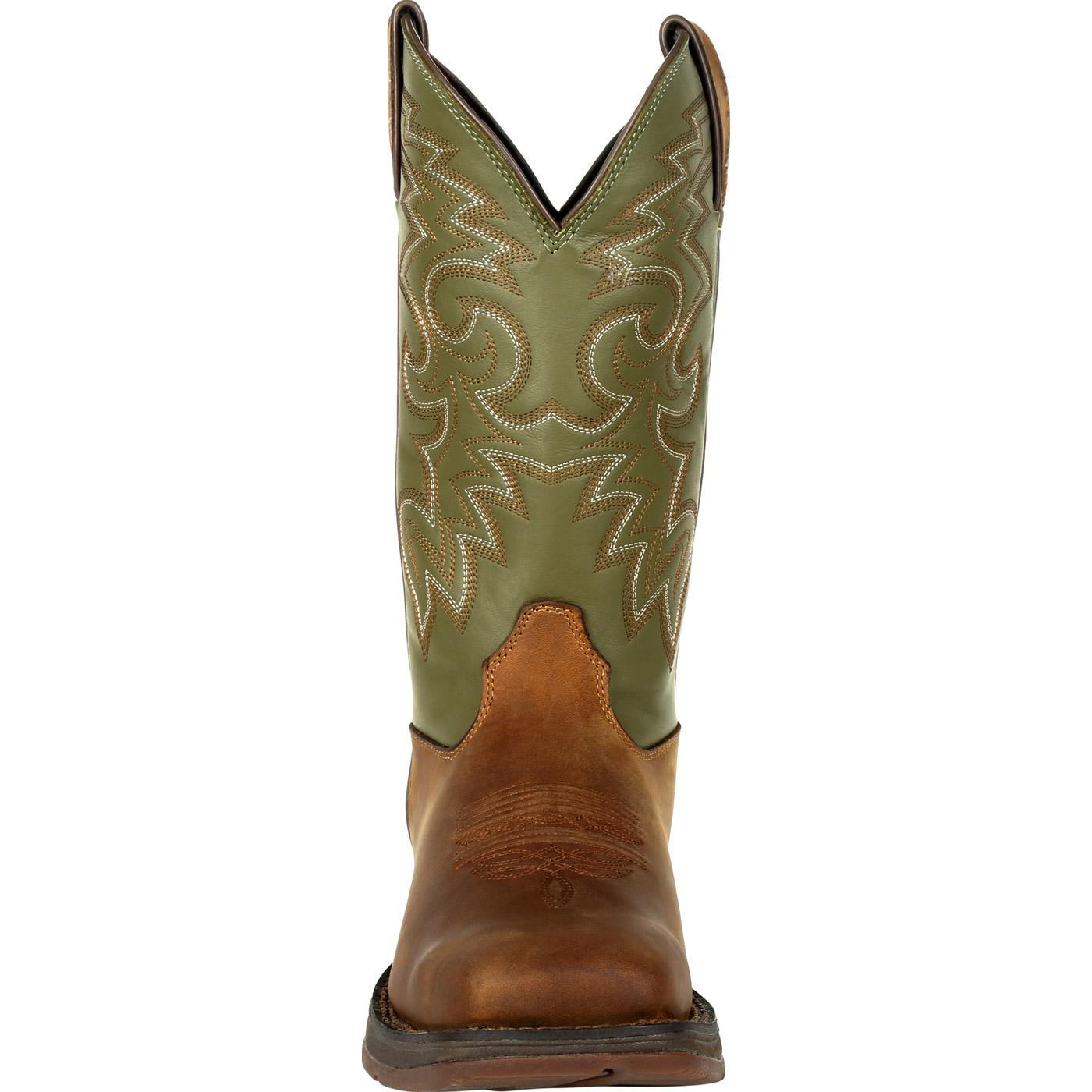 d6842e3fb18 Rebel by Durango Coffee & Cactus Pull-On Western Boot