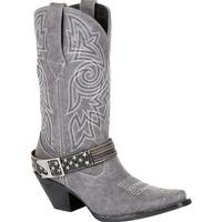 Crush™ by Durango® Women's Graphite Flag Accessory Western Boot, , medium