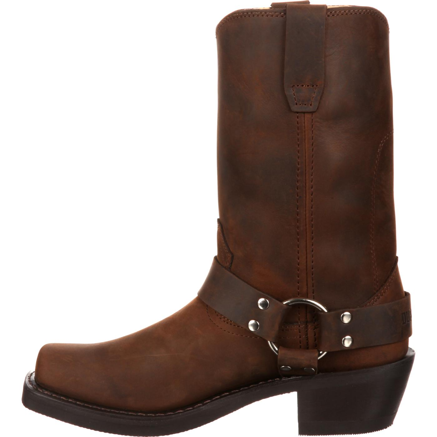 durango s brown leather harness boot style rd594