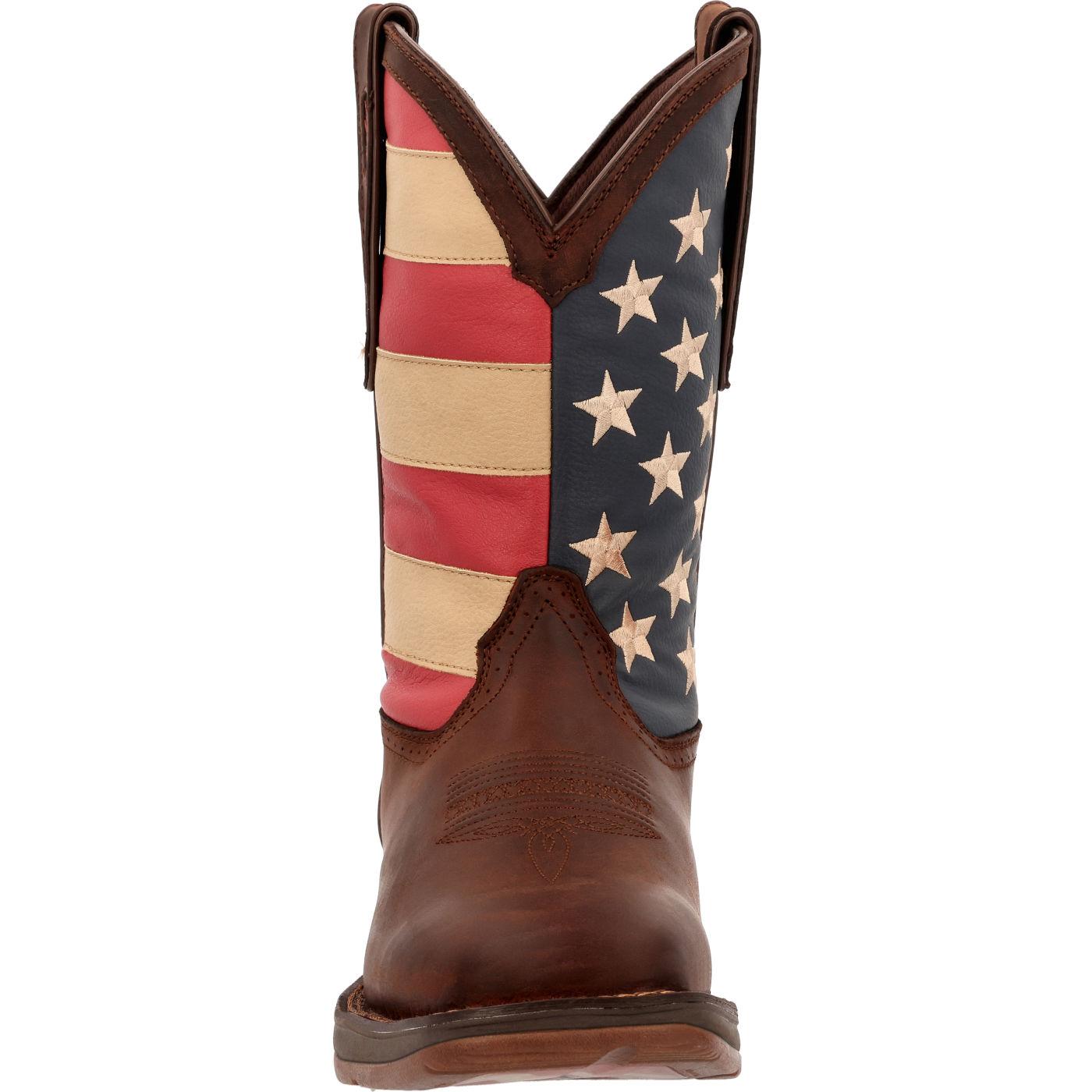 104ec633134 Rebel by Durango Patriotic Pull-On Western Flag Boot