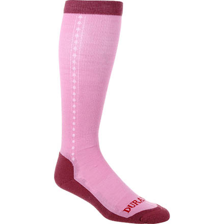 Durango® Boot Women's Lightweight Merino Wool Socks, PINK, large