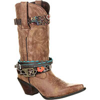 Crush by Durango Women's Accessorized Western Boot, , medium
