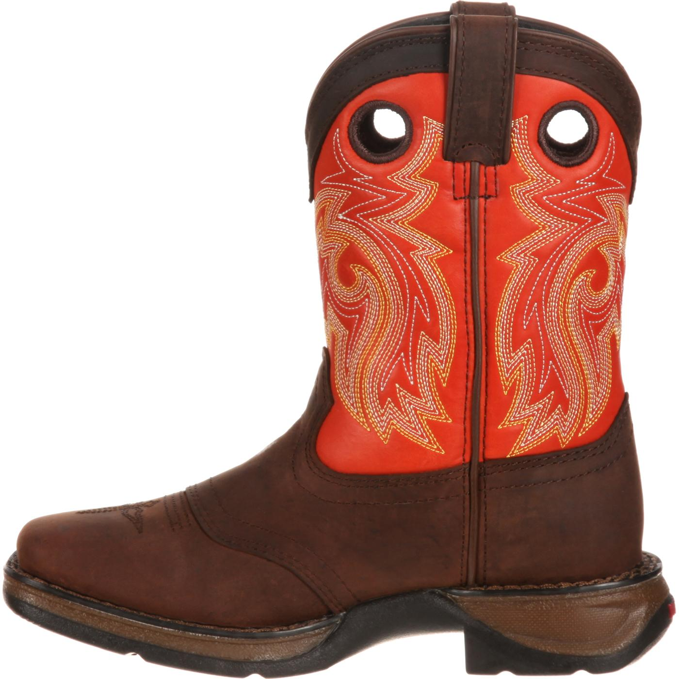 e10cc20a98ca Lil  Durango Big Kid Saddle Western Boot