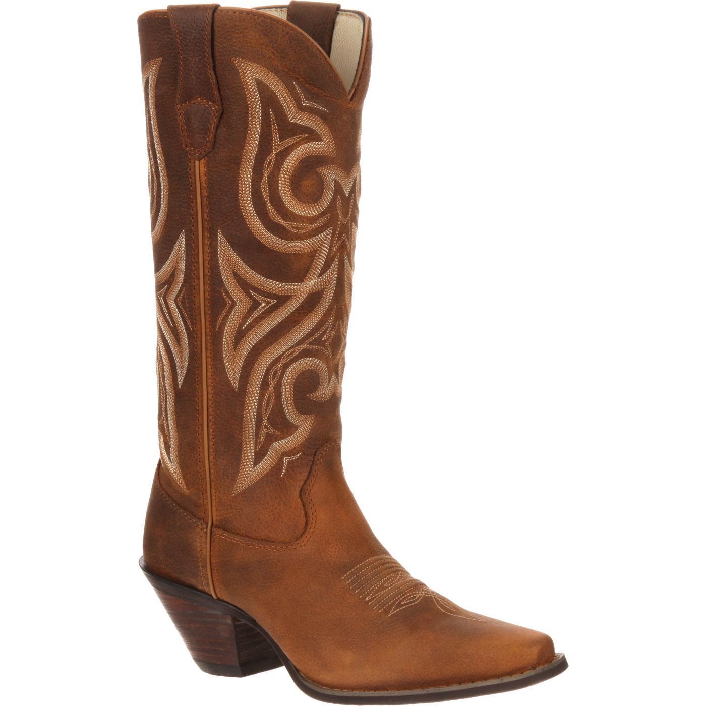 Crush by Durango Women's Tan Jealousy Western Boot, , large