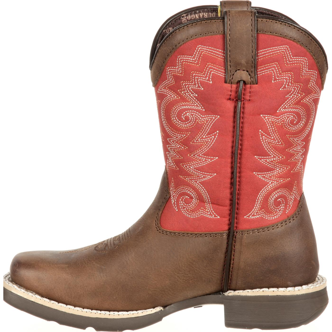 2dd3bdd299c Lil' Durango Little Kid Stockman Western Boot
