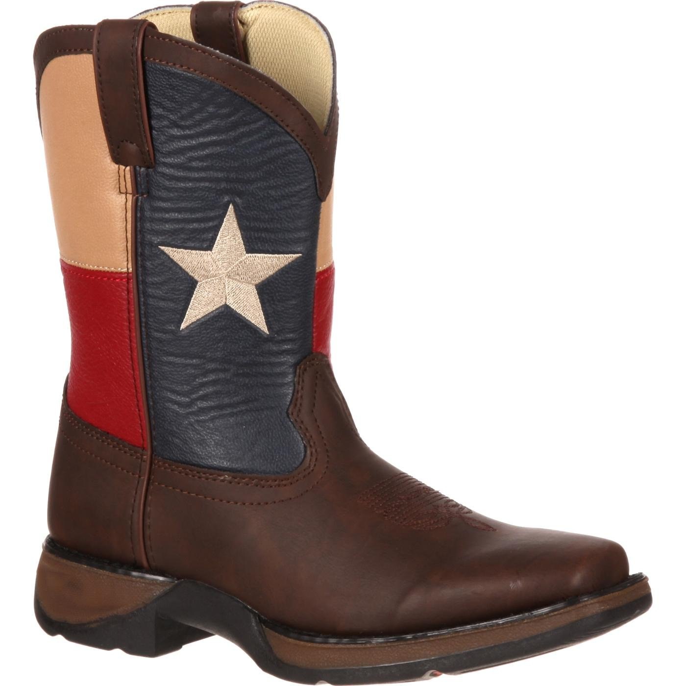 Lil Durango Kids Texas Flag Western Boot Style Bt246