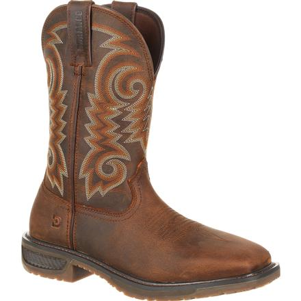 Durango Workhorse Steel Toe Western Work Boot, , large