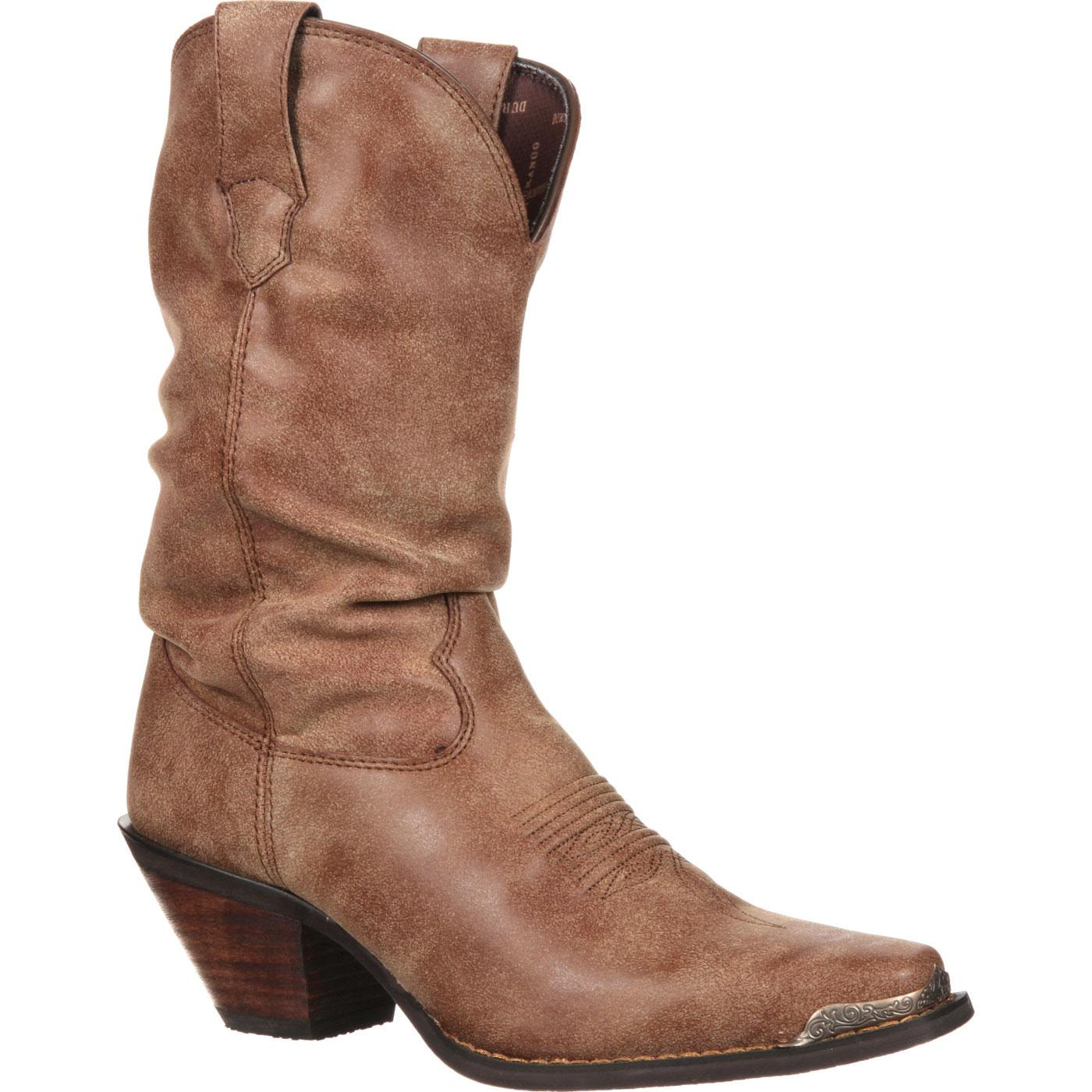 Buy Authentic separation shoes watch Crush by Durango Women's Slouch Western Boot