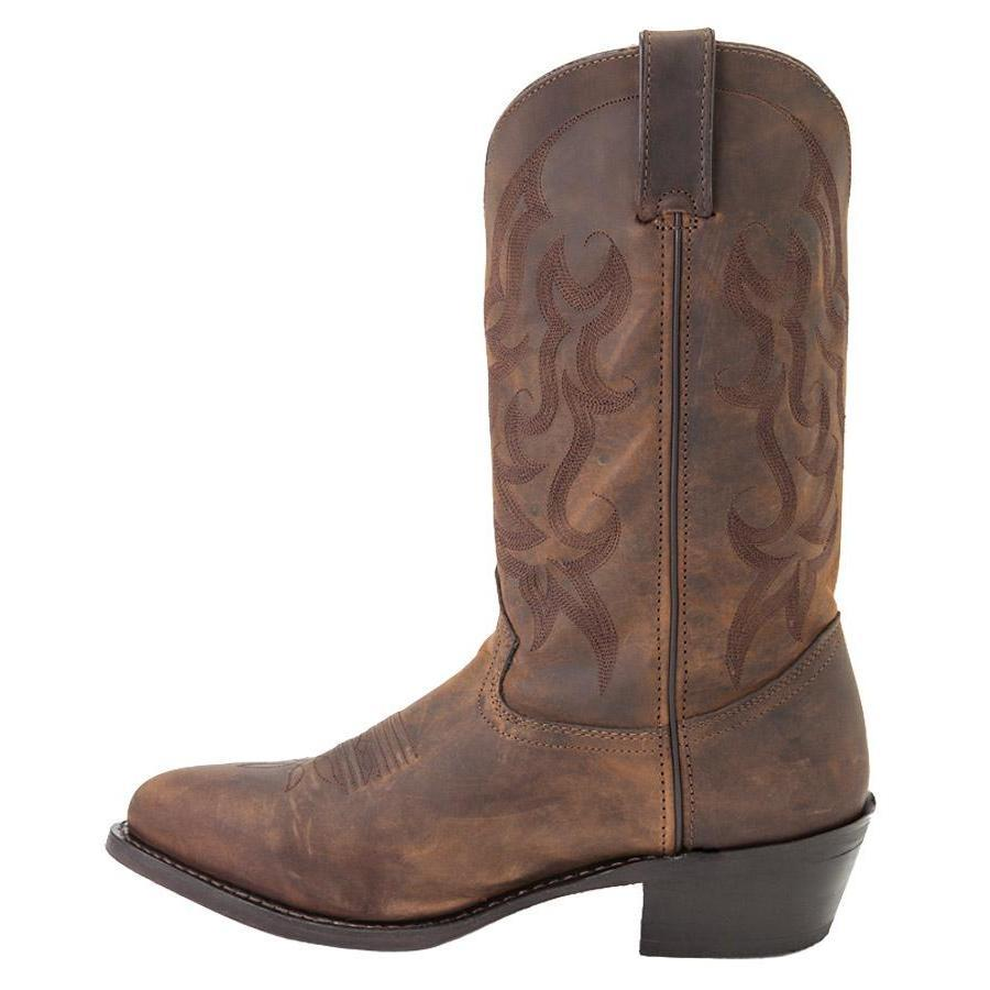 "Durango Men's 12"" Tan Leather Western Boots - Style #DB922"