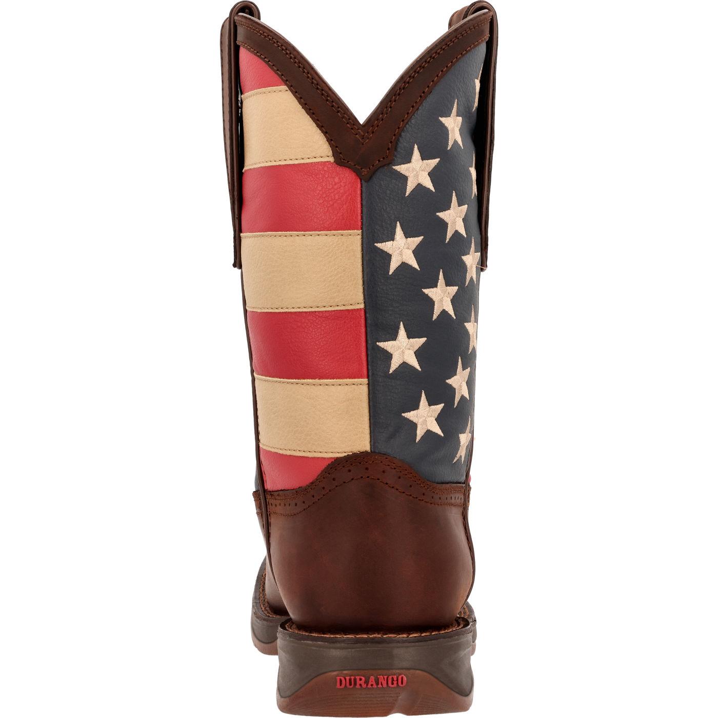 d76bcdb1e8e American Flag Boots - Rebel by Durango Men s Flag Western Boots  DB5554