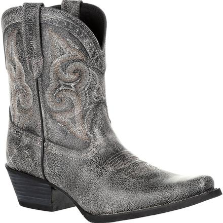 Crush™ by Durango® Women's Pewter Shortie Western Boot, , large