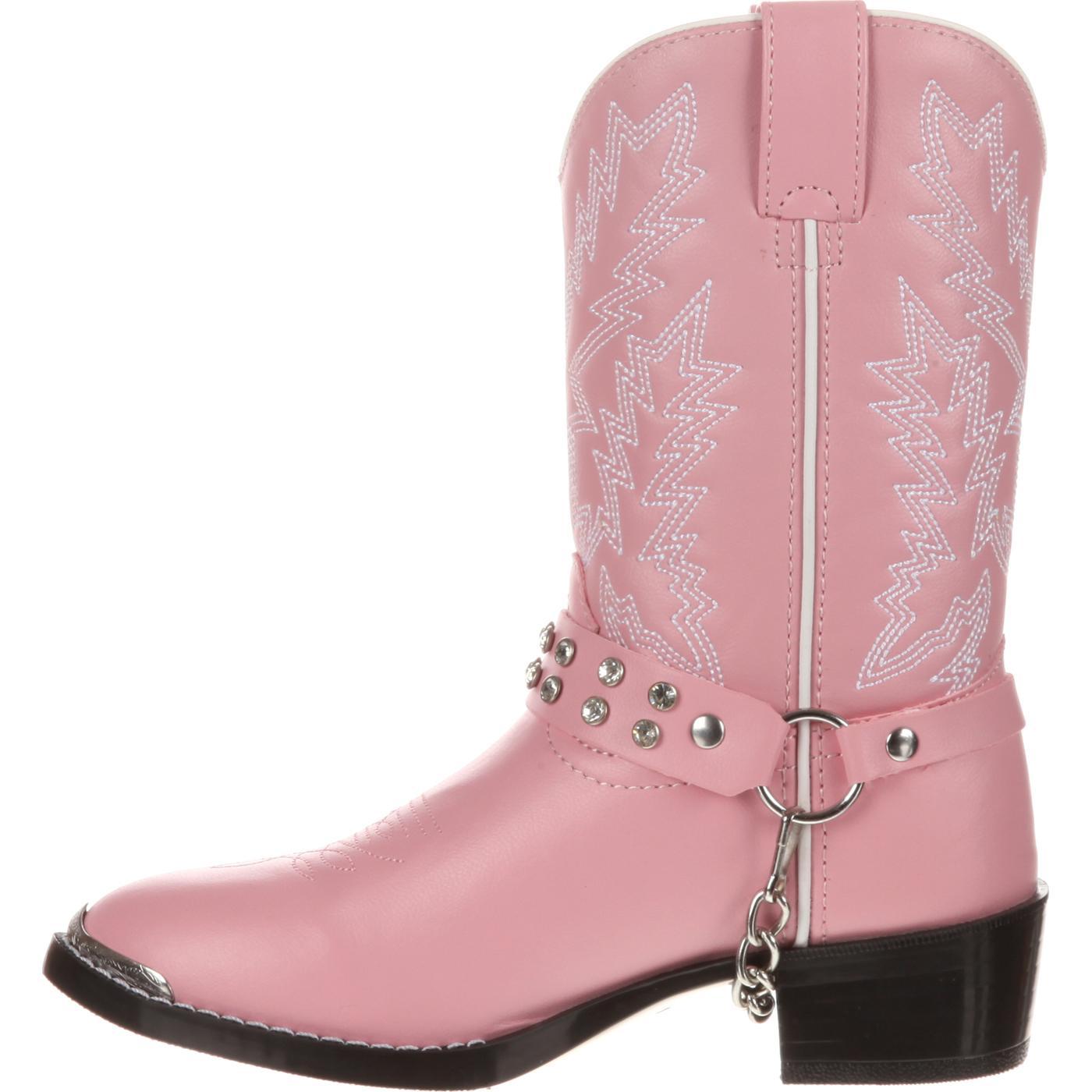 c87a7b28828488 Images. Durango Little Kid Pink Rhinestone Western Boot ...
