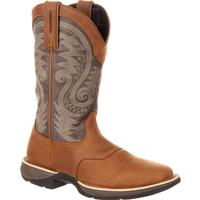Rebel by Durango Waterproof Saddle Western Boot, , medium