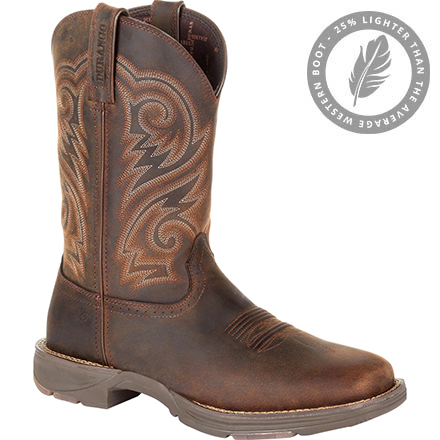 Durango UltraLite Distressed Brown Western Boot, , large