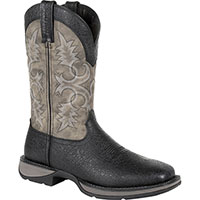 Rebel by Durango Black Western Boot, , medium