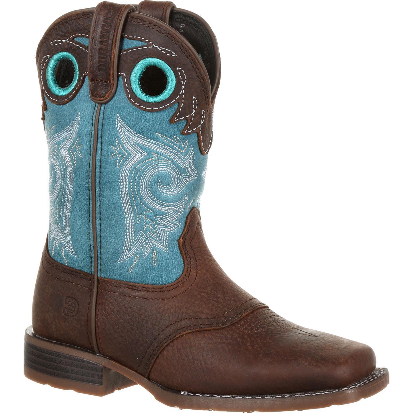 acheter pas cher 242ab 1a91d Durango® Lil' Mustang™ Big Kids Western Saddle Boot