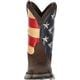 Lil' Rebel™ by Durango® Big Kids' Flag Western Boot, , small