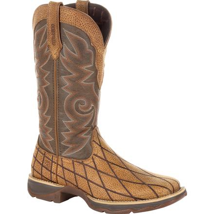 Lady Rebel by Durango Women's Patchwork Western Boot, , large