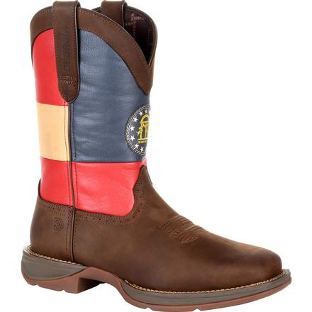 Rebel by Durango Georgia State Flag Western Boot, , large