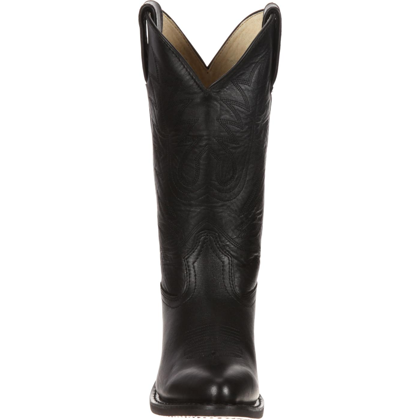 Durango: Women&39s Black Leather Western Boots style RD4100