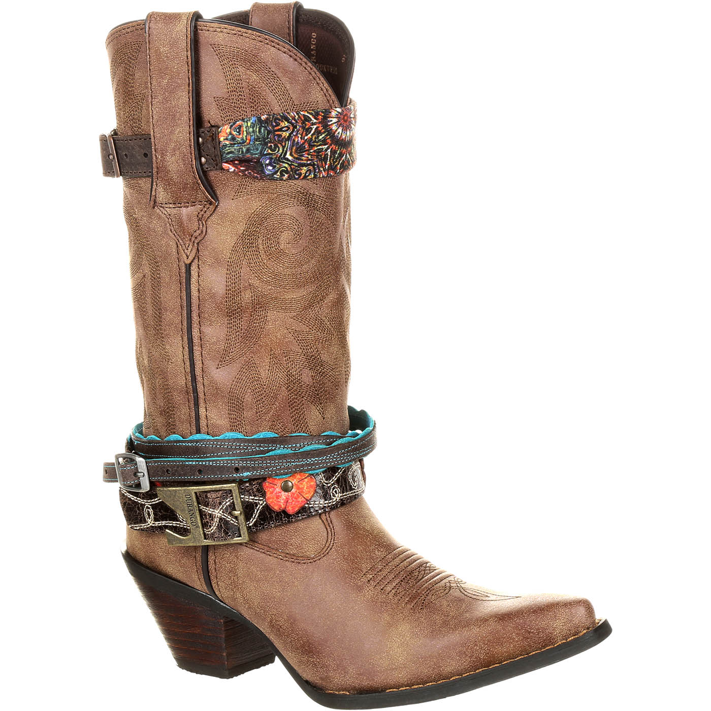 Crush by Durango Women's Accessorized Western Boot, , large