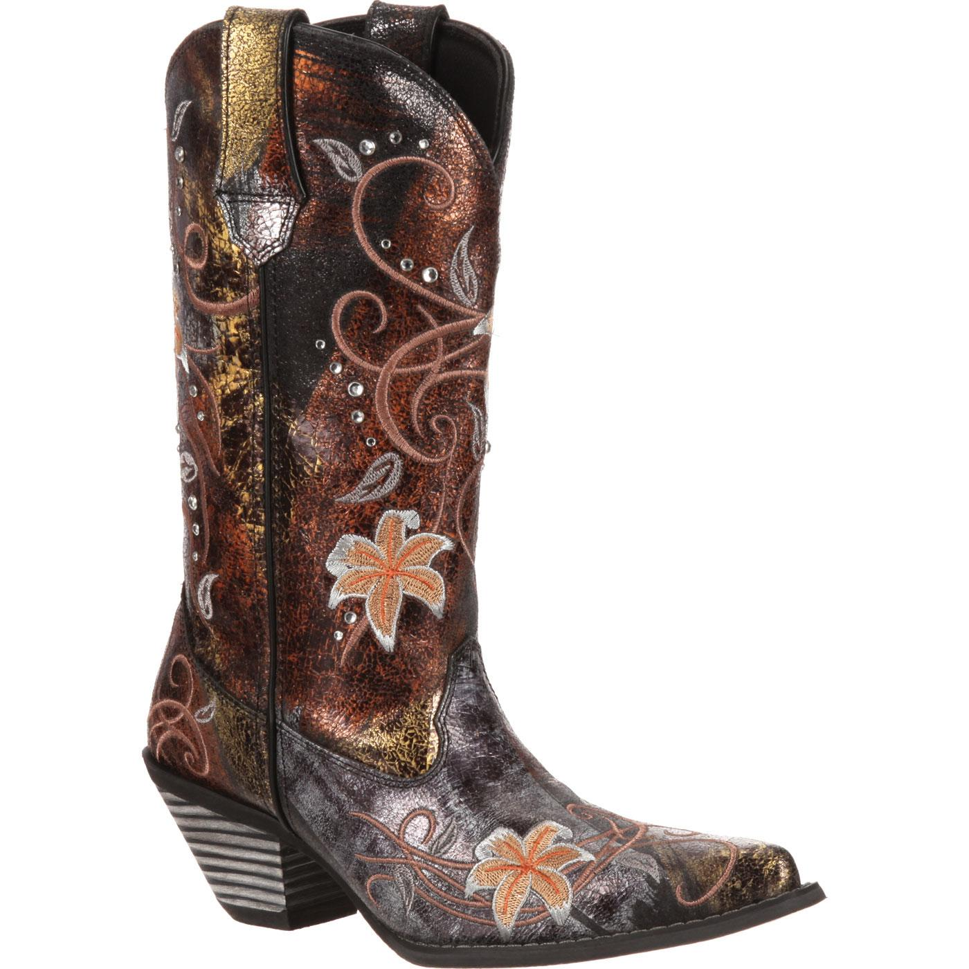 Smoky Mountain® Boots Girls' Rose Embroidered Western Boots - Child