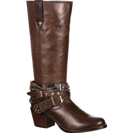 Durango Women's Philly Accessorized Western Boot, , large