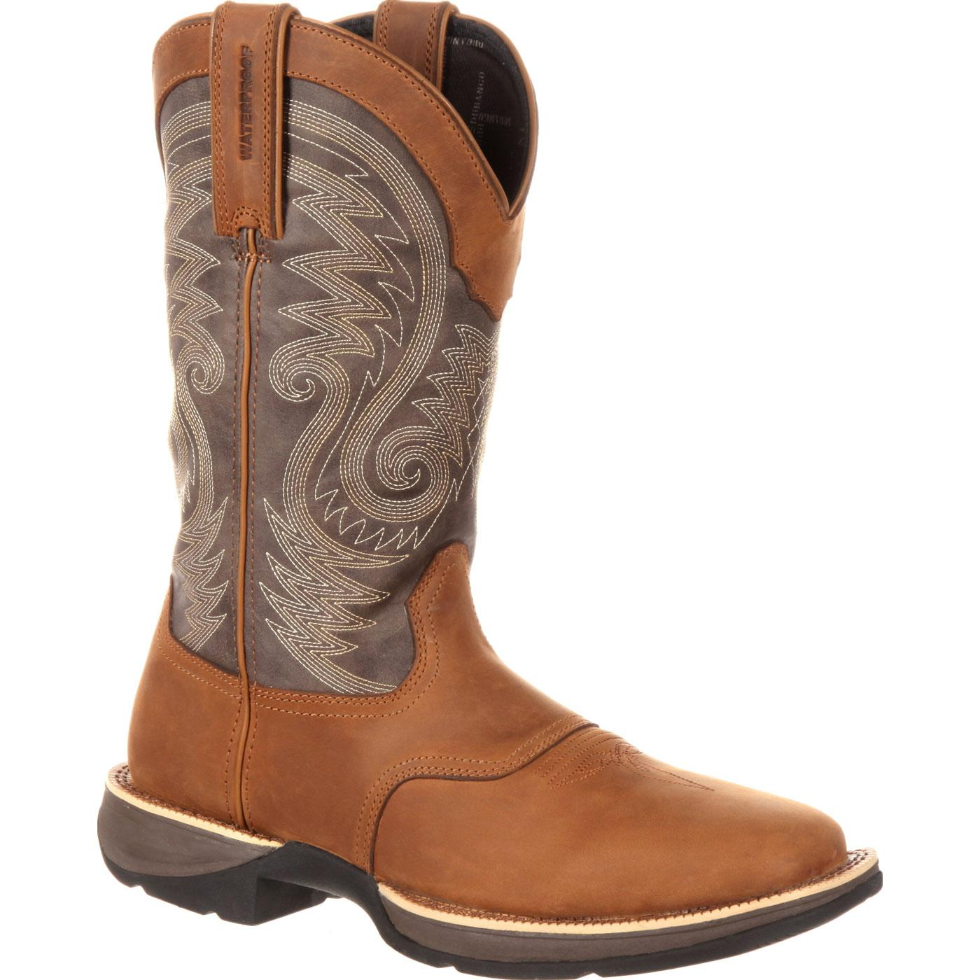 bb50ded3f80 Rebel by Durango Waterproof Saddle Western Boot