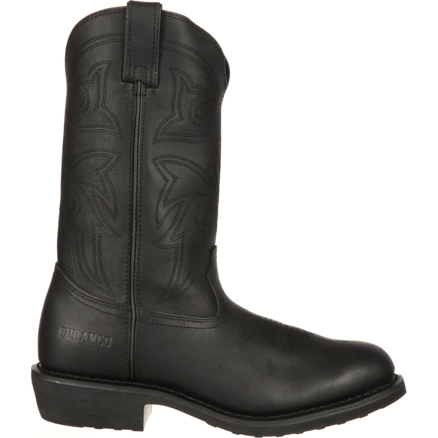 Images. Durango Farm 'N' Ranch Black Western Boot ...