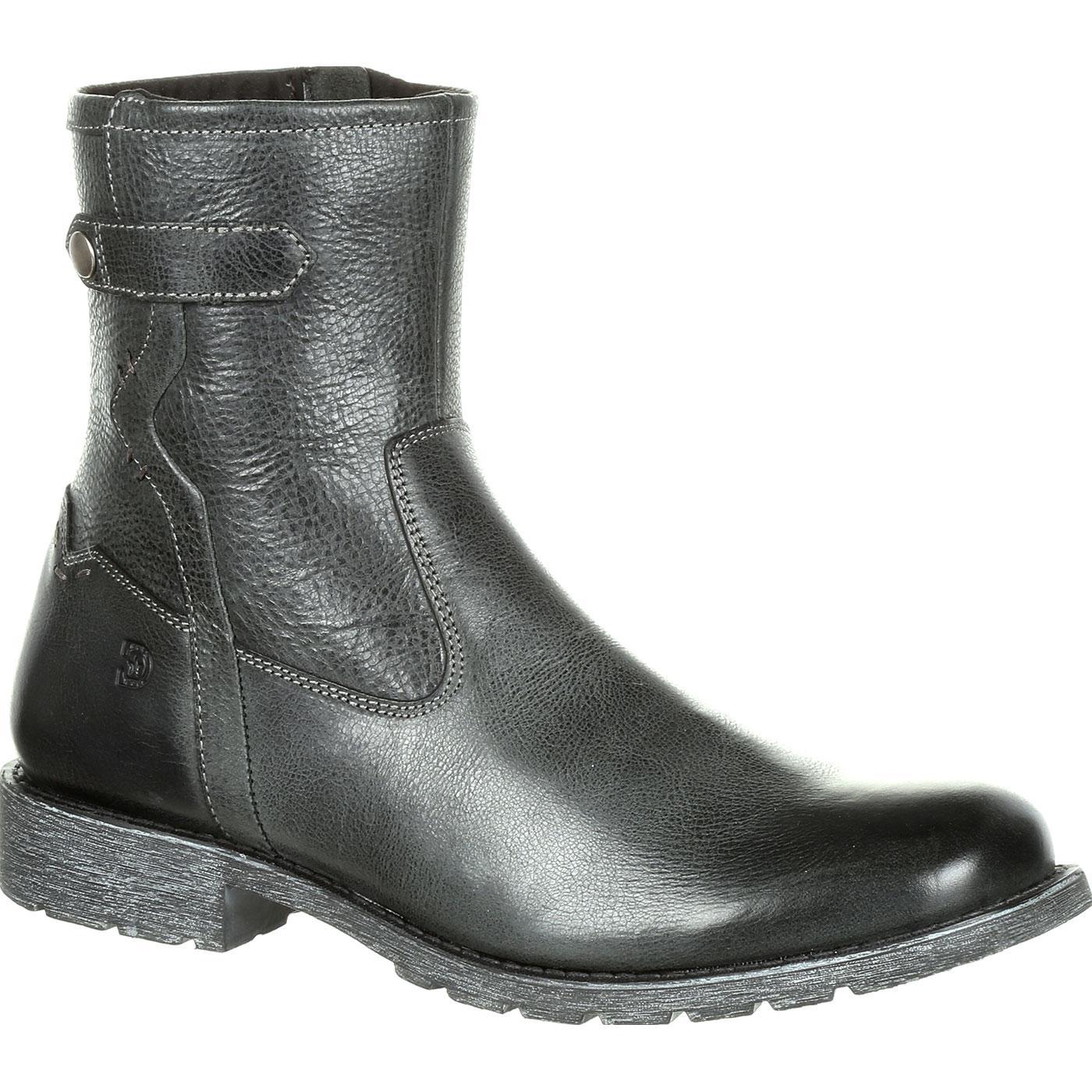 878505b0314 Durango Drifter Men's Black Side-Zip Boot