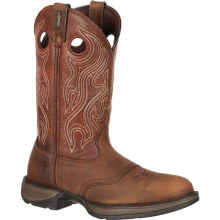 Rebel by Durango Brown Saddle Western Boot, , large
