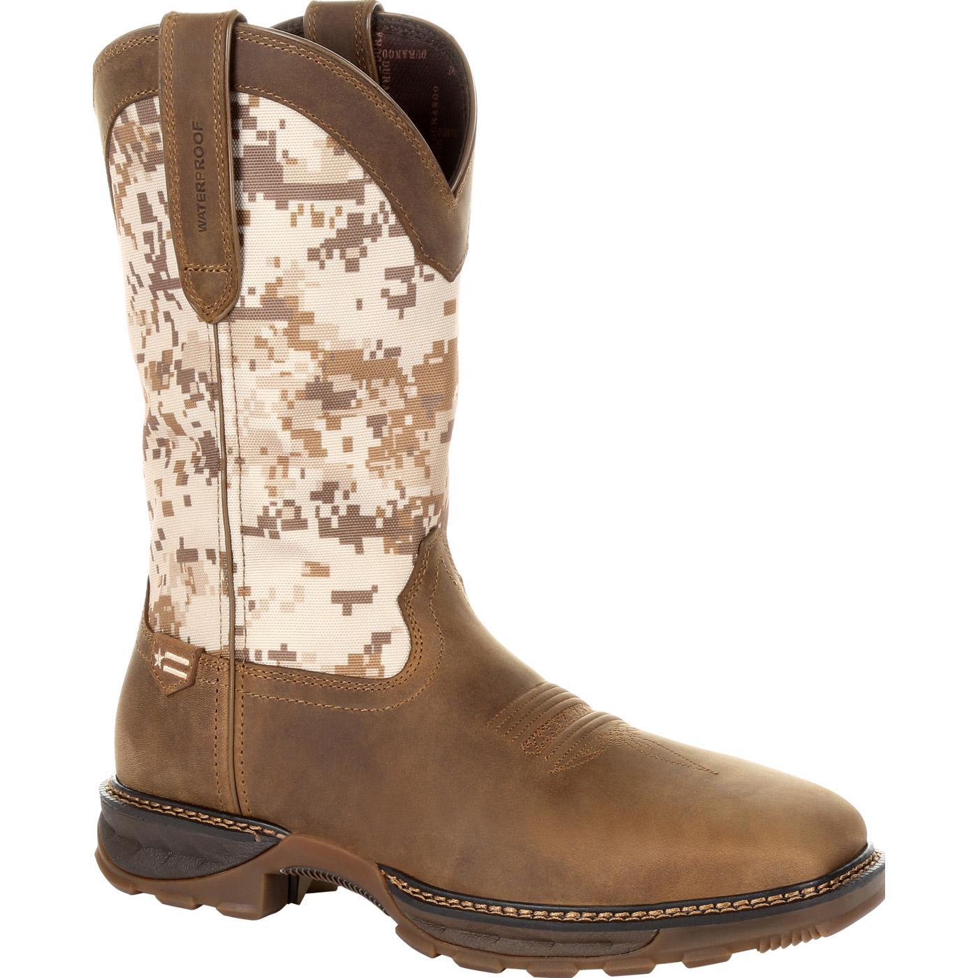 02efe2c0dec Durango Maverick XP Steel Toe Waterproof Western Work Boot