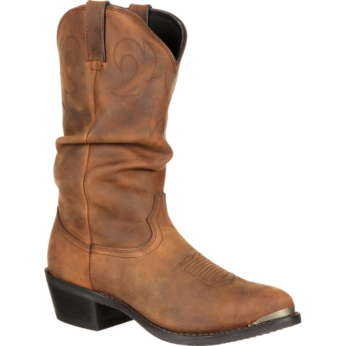 durango boot s distressed western slouch boot sw542