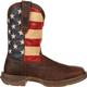 Rebel™ by Durango® Patriotic Pull-On Western Flag Boot, , small