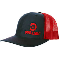 Durango Richardson Ball Cap, RED, medium