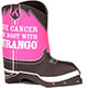Durango® Pink Ribbon Boot Koozie, , small