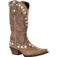 Crush by Durango Women's Floral Western Boot, , medium