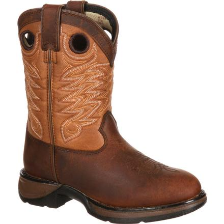 Lil' Durango Little Kid Raindrop Western Boot, , large